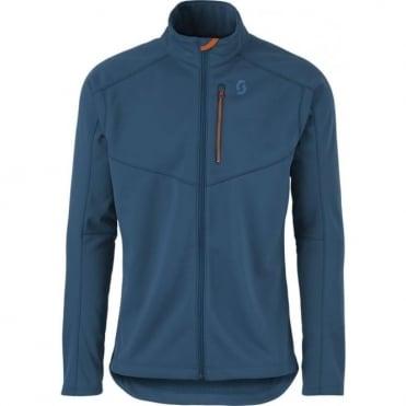 Mens Defined Tech Jacket - Eclipse Blue