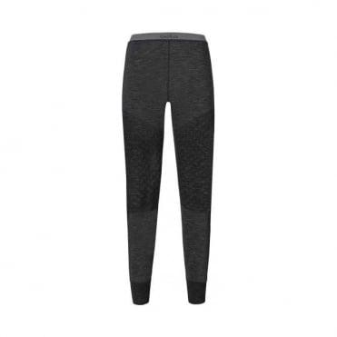 Wmns Revolution X-Warm Long Baselayer Pants - Black Melange