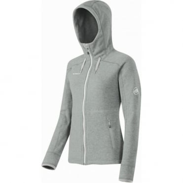 Wmns Arctic Hooded Midlayer Jacket - Grey