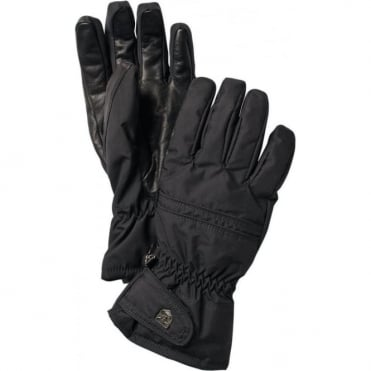 Primaloft Leather Female Gloves - Black