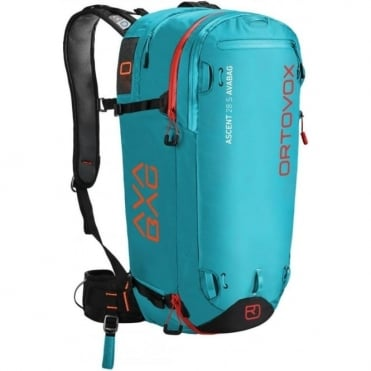 Ascent 28S Avabag Avalanche Airbag Backpack - Aqua