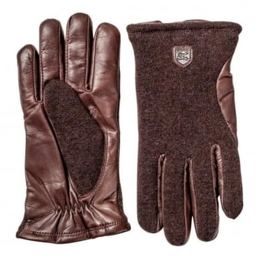 Sport Classic Hairsheep Wool Tricot Gloves - Brown