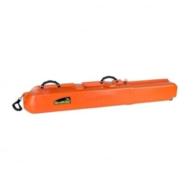 3 Pairs Skis or Snowboard Hard Case - Colour Orange