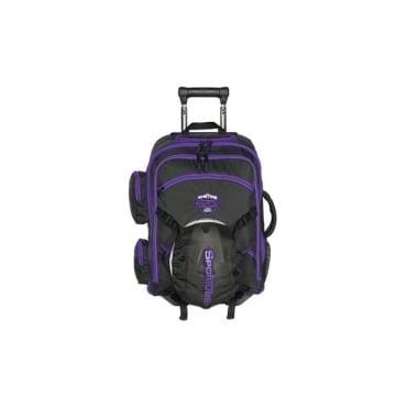 Cabin Cruiser 35l Wheelie Boot and Helmet Bag - Purple/Black