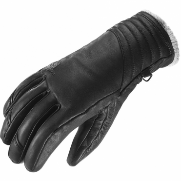 Wmns Native Leather Glove - Black