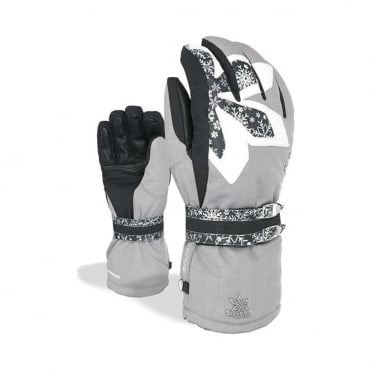 Bliss Oasis Glove - Logos Grey