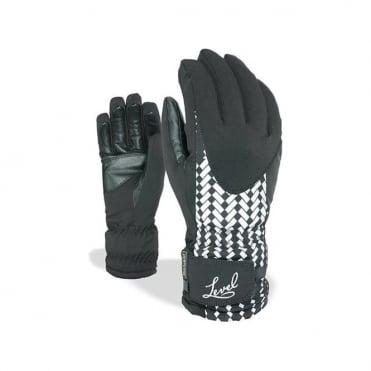 Wmns Alpine Glove - Black/White