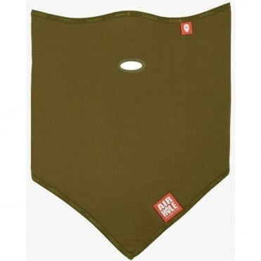 Standard Lite Polar Neck/face Warmer - Army Green
