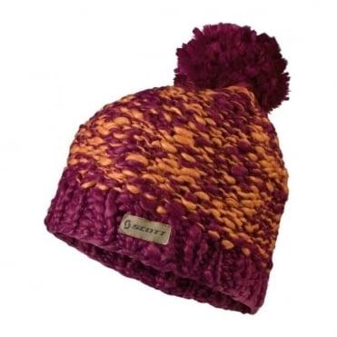 Beanie Mountain 110 - Sangria Purple/Orange Crush