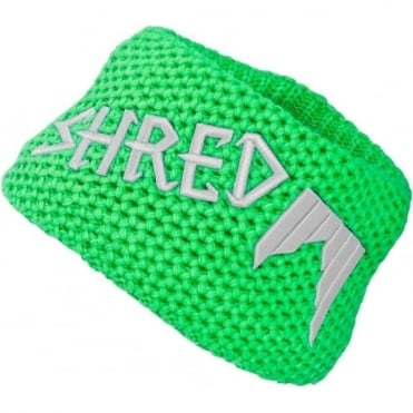 Heavy Knitted Headband - Green