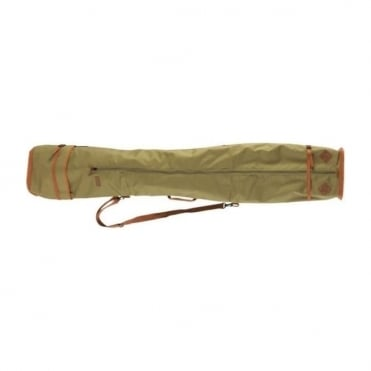 Deluxe Double Ski Bag Green