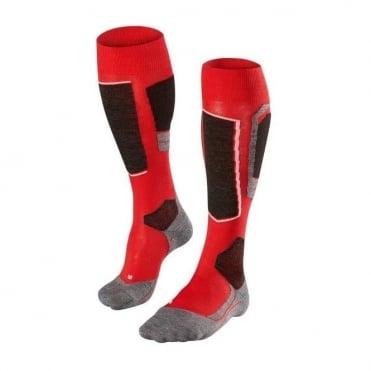 Wmns Sk4 Ski Socks - Lipstick Red