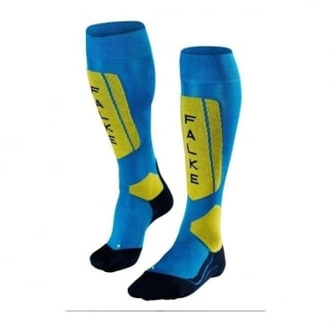 Men's Sk5 Ski Socks - Black/Blue