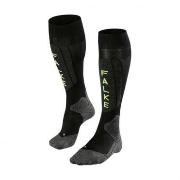Unisex Sk5 Ski Socks - Black