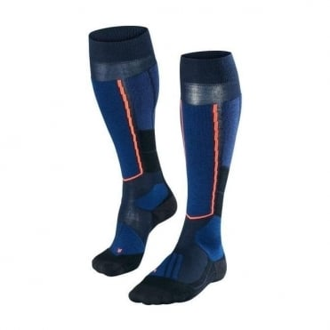 Wmns ST4 Wool Ski Touring Socks - Marine Blue