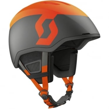 Seeker Plus Helmet - Earth Grey/Fluo Orange Matt
