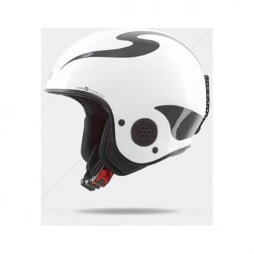 Rooster Discesa S Race Helmet - Gloss White ( FIS Approved )