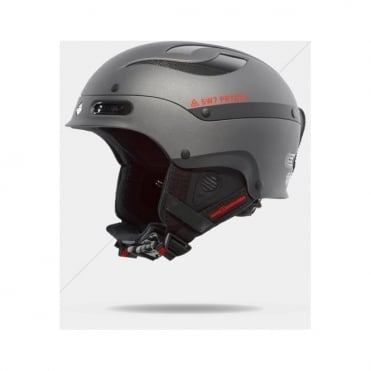 Trooper Helmet - Matt Metallic Black