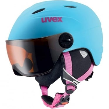 Junior Visor Pro Helmet - Blue matt