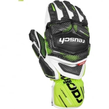 Tec 16 GS Ski Race Mitten - White/Green/Black