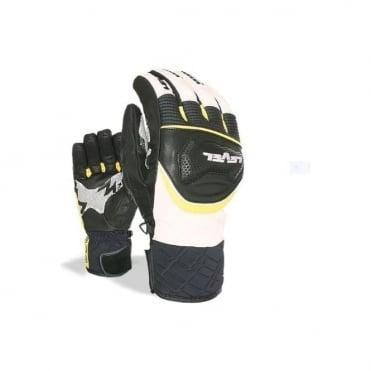 Ski Race Gloves - Black/Yellow