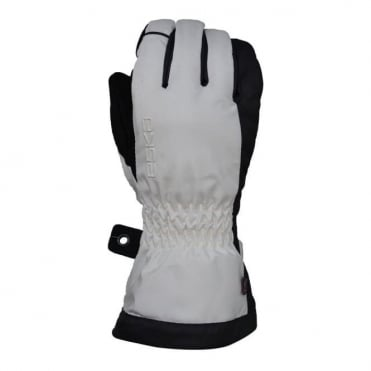 Wmns White Cult Gloves - White Egret/Grey