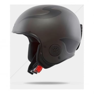 Rooster Discesa S Race Helmet - Smoke Black ( FIS Approved )