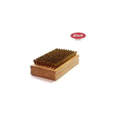 Flat Brush Brass 110X65mm (1041)