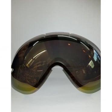 Ess g.gl 9 Double Goggles Lens - Gold Mirror Goldlite