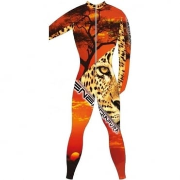 Adult Unpadded Race Catsuit Lycra BOLD  Leopard