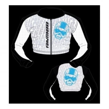 Junior Maglia Racing Body Protection/Stealth Jacket - White/Black/Blue