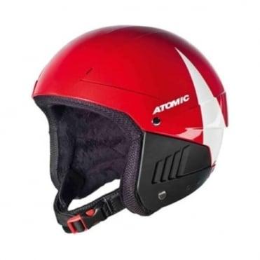 JR Pro Tect Race Helmet - White/Red