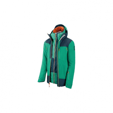 Cliffline Stormfold 3-in-1 Tech Jacket - Green