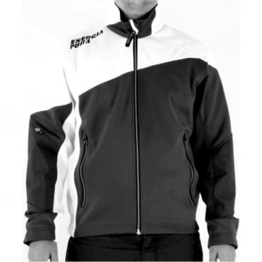 Adult Race Light Training Jacket Siusi Full - Black