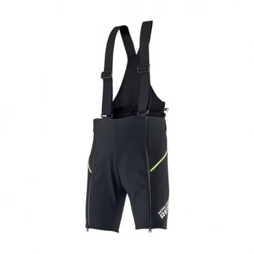 Adult Race Training Team Over Shorts - Black / Yellow