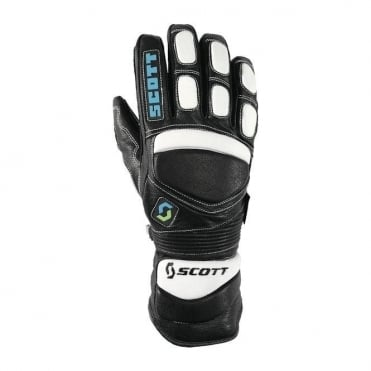 Team Race Gloves - Black/White