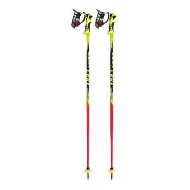 Junior Race Poles World Cup Lite SL - Red/Yellow