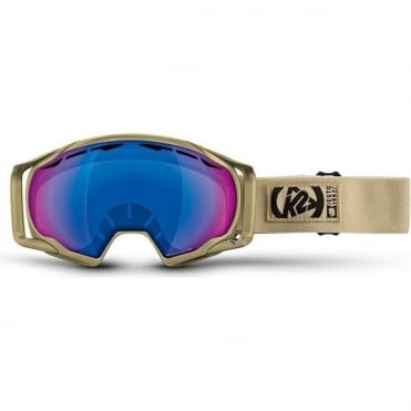 PhotoKinetic Goggle - Sand / Blue Photo Gold S1-3