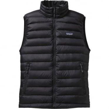 Men's Down Sweater Vest - Black
