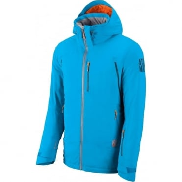 Mens Treeline 2L Flex Tech Jacket - Blue