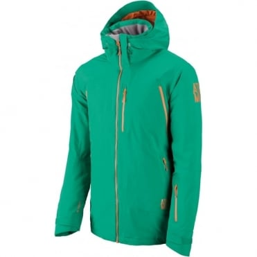 Mens Treeline 2L Flex Tech Jacket - Green
