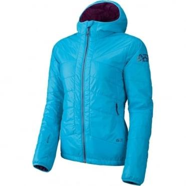 Wmns Ridgeline Primaloft Hood Tech Jacket - Turquoise