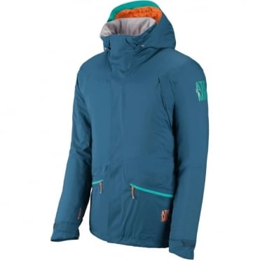 Mens Treeline Pure Tech Jacket - Blue/Grey