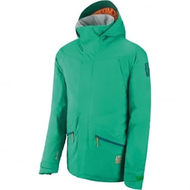 Mens Treeline Pure Tech Jacket - Green