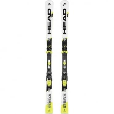 WC Rebels iSL Rp Skis 160cm + Evo14 Ski Bindings ( White/Black)