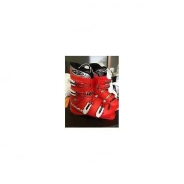 Junior Ski Boots Raptor S Shape Red/White