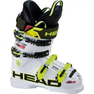 Junior Race Ski Boots Raptor 90 HF - White