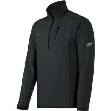 Men's Polar Midlayer Half Zip Pull - Graphite Grey