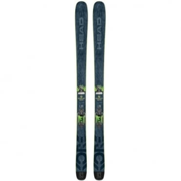 Men Freeski Skis Kore 93 180cm + Attack 13 Green Bindings ( 2018 )