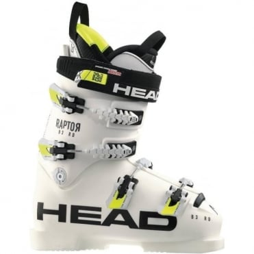 Race Ski Boots Raptor B3 Rd ( 120-140 Flex ) White
